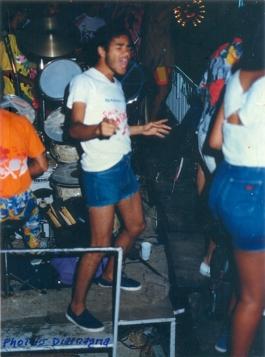 Um carnaval daquele tempo. Conquista, 1985.