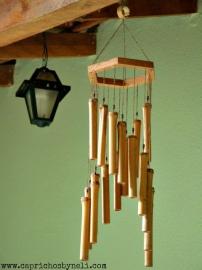 Mensageiro dos Ventos (feito de bambu)