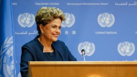Avaliação da presidente Dilma em Conquista foi pior que a nacional. (Foto: Roberto Stuckert Filho/PR)