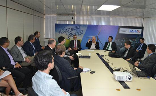 Reuniao SDE - BNDES, Banco do Brasil, Caixa,  Sebrae e Desenbahia - Ascom SDE