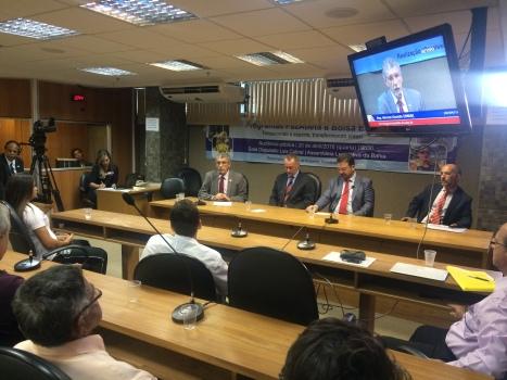 Herzem fala na Comissão do Desporto