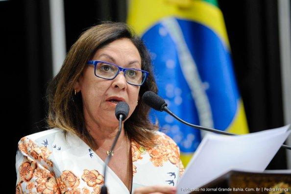 Senadora Lídice da Mata (PSB-BA) discursa em sessão do Congresso para comemorar o Dia Internacional da Mulher, com a entrega do Diploma Mulher-Cidadã Bertha Lutz 2013 e a instalação da Procuradoria da Mulher no Senado
