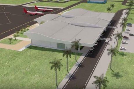 Terminal novo aeroporto
