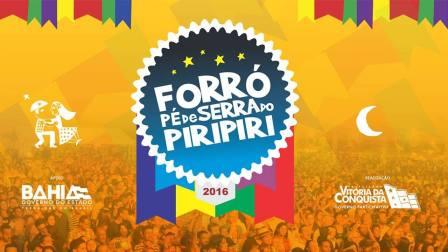 Banner Forró Pé de Serra do Piripiri