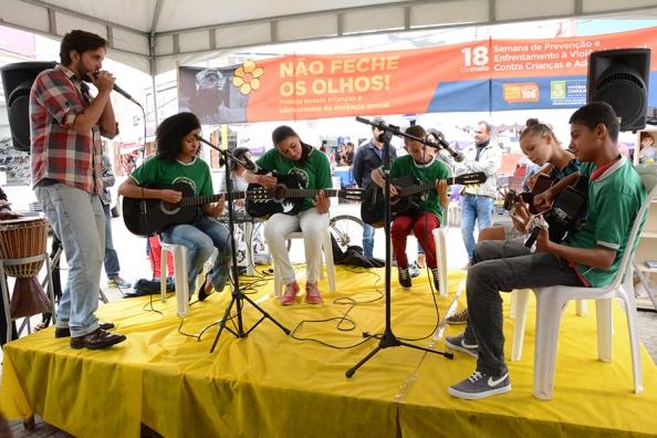 Educandos do Centro de Referência de Assistência Social (CRAS) Jardim Valéria