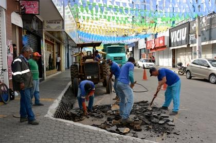 Revitalização do centro comercial 1