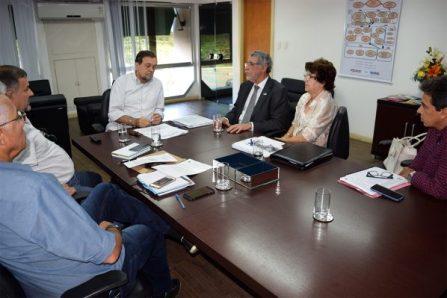 Reuninão Herzem e Pinheiro