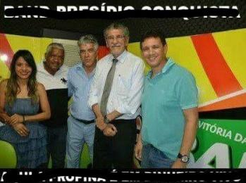 Foto estúdio Band FM
